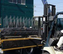 住宅用基礎ユニット鉄筋の出荷を動画でご紹介
